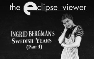 Criterion Collection Ingrid Bergman's Swedish Years