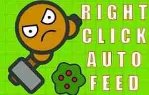 MooMoo.io Right click auto feed