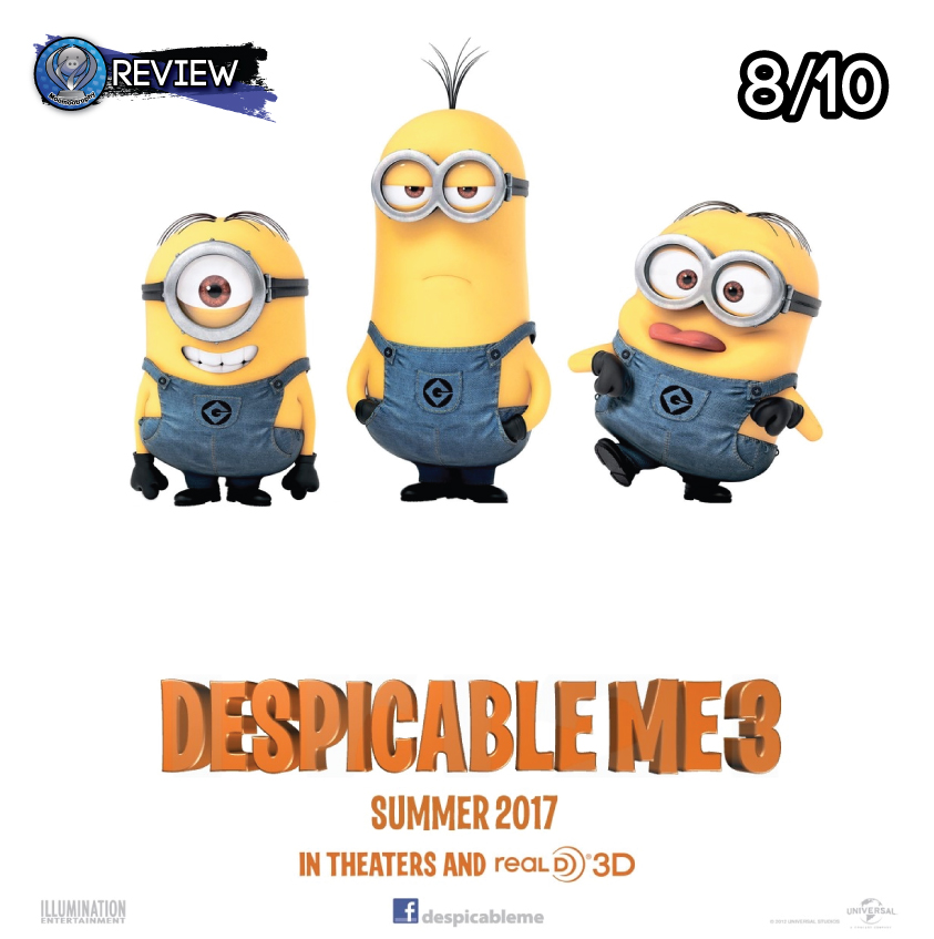 Review - Despicable Me 3