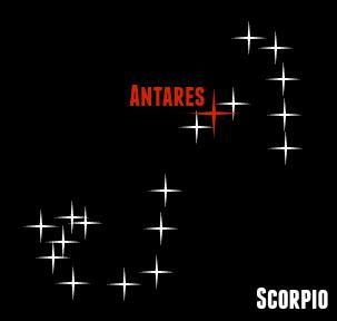 Магия Скорпиона ритуал Антарес