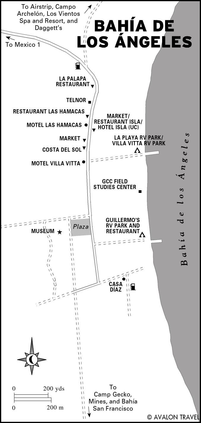 Bahia De Los Angeles Map.Printable Travel Maps Of Baja Moon Travel Guides