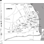 Map of Loreto, Mexico