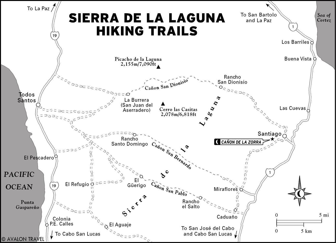Hiking Sierra de la Laguna, Mexico - Moon Travel Guides