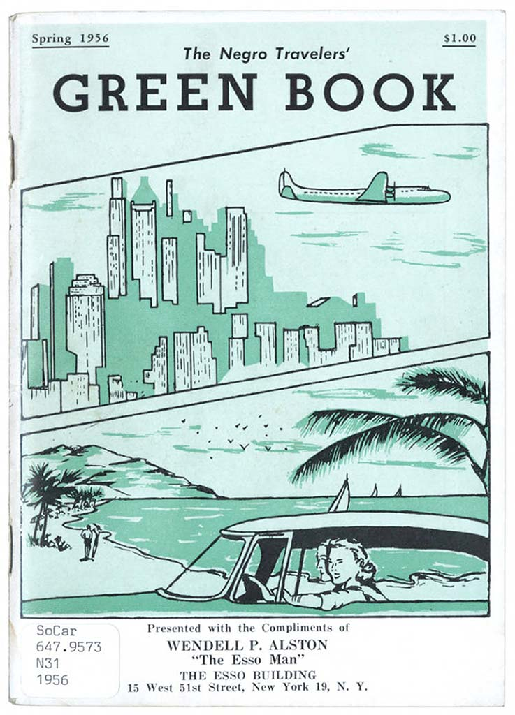 The 1956 edition of The Green Book. Photo © Candacy Taylor.