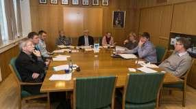 RASKT Formannskapet i Andøy gjorde unna sakslisten i mandagens møte på under to timer. FOTO: JØRN AUNE