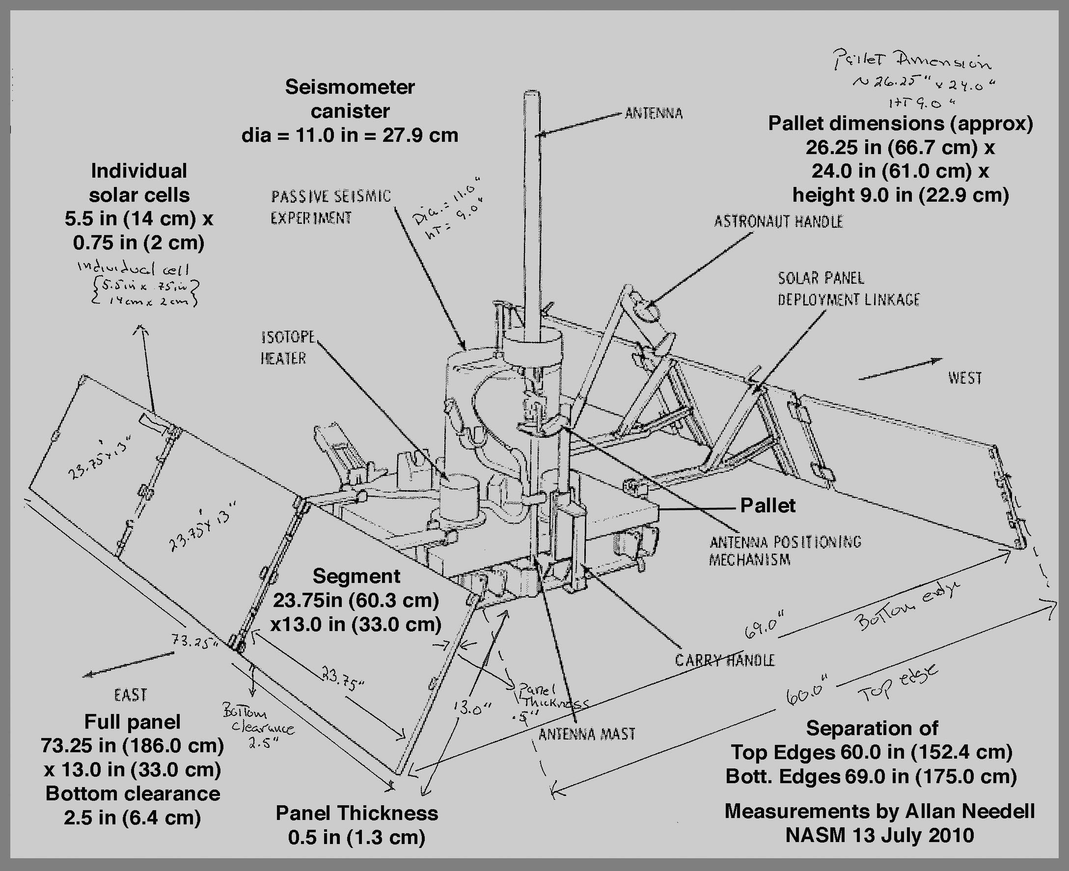 Apollo 11 Seismic Experiment