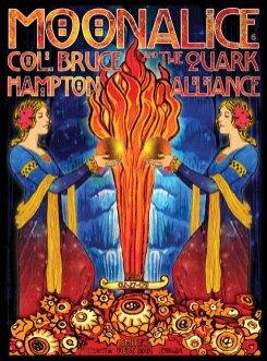 2/27/09 Moonalice poster by Alexandra Fischer
