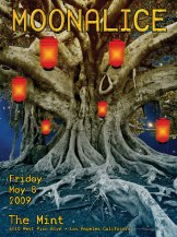 5/8/09 Moonalice poster by Alexandra Fischer