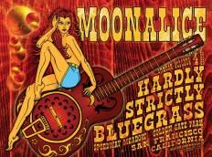 10/4/09 Moonalice poster by Alexandra Fischer
