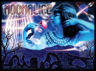 M378 › 5/29/11 Desert Rocks Music Festival, Moab, UT poster by Alexandra Fischer
