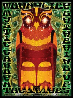 M497 › 7/20/12 Mystic Garden Gathering of the Tribes, Selma, OR poster by Alexandra Fischer