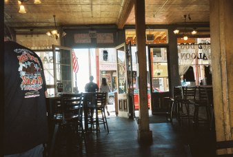 Inside The Red Dog Saloon