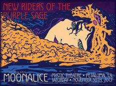 M658 › 11/30/13 Mystic Theatre, Petaluma, CA poster by Alexandra Fischer