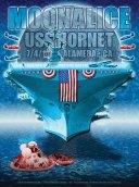 M721 › 7/04/14 USS Hornet, Alameda, CA poster by Alexandra Fischer