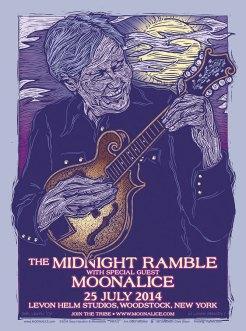M727 › 7/25/14 Midnight Ramble at The Barn - Levon Helm Studios, Woodstock, NY