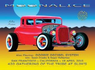 4/19/15 420 Gathering of the Tribe at Slim's, San Francisco, CA