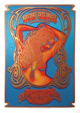 R50 › 11/7/15 Great American Music Hall, San Francisco, CA silkscreen poster by Dave Hunter & Alan Forbes