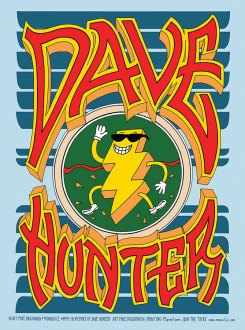 M970 › 5/12/17 Art & Soul: A Concert in Honor of Dave Hunter at Great American Music Hall, San Francisco, CA poster by Mike Dolgushkin