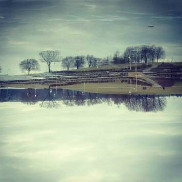 hamilton bayfront reflection