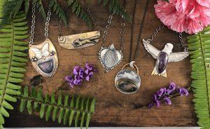 Moon & Leaf Jewelry Photo