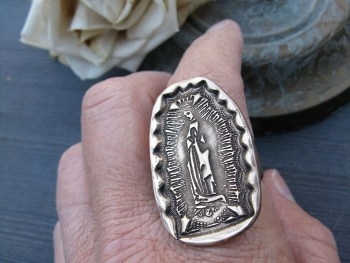Virgin of Guadalupe Ring