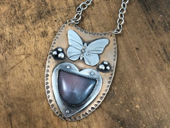 Butterfly Medicine Necklace