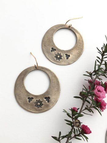 Fall Equinox Sunbird Earrings