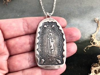 Virgin of Guadalupe Pendant