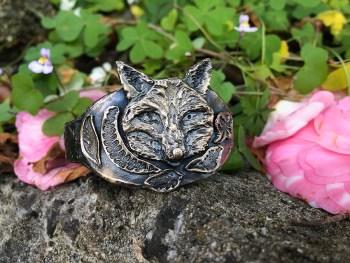 Fox Cuff Bracelet