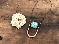 Roman Glass Necklace