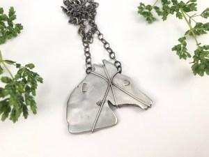 Vintage Horse Pendant
