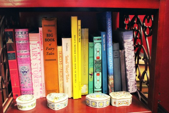 Some of our fairy tale books.