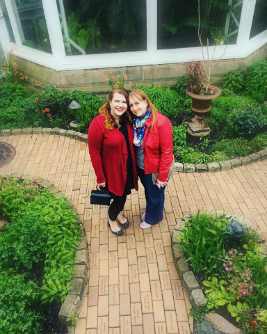 <3 At Phipps Conservatory.
