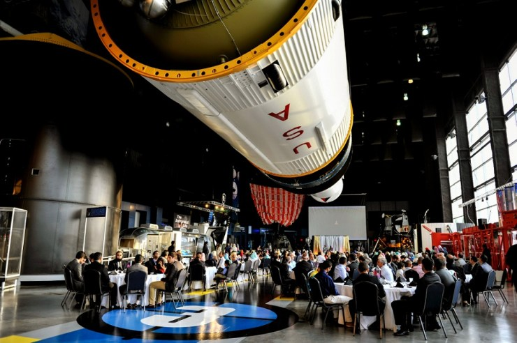 36 space and rocket center wedding