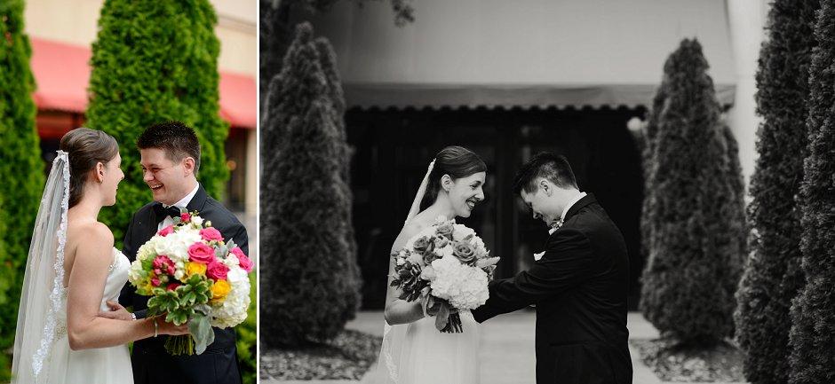 13 Westin Huntsville wedding photographer first look