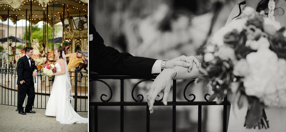 18 Westin Huntsville wedding photographer bridge street carousel