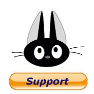 support-black-cat