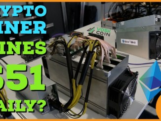 New Crypto Mining Rig able to mine $51 a DAY?!