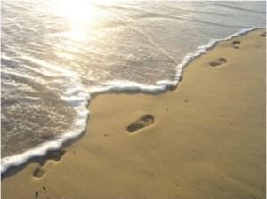 FOOTPRINTS ON BEACH copy