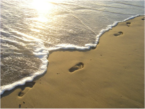 FOOTPRINTS ON BEACH copy