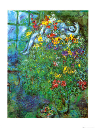 """""""Le Bouquet Ardent"""", Marc Chagall"""