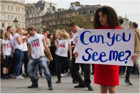 """Can You See Me?"" doc film, Lou Hamilton, director, UK"