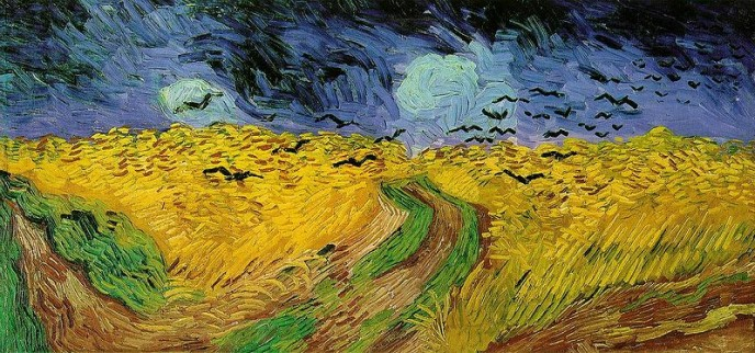 "Vincent Van Gogh, ""Wheat-field with Crows"""