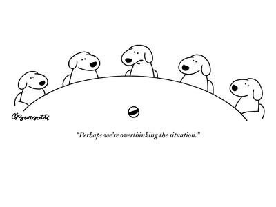 New Yorker magazine cartoon, by Charles Barsotti