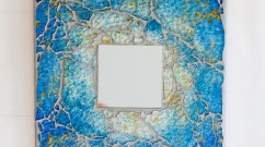 Moonfish artworks Mosaic mirror 1