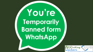 Temporarily banned from WhatsApp [Resolved]