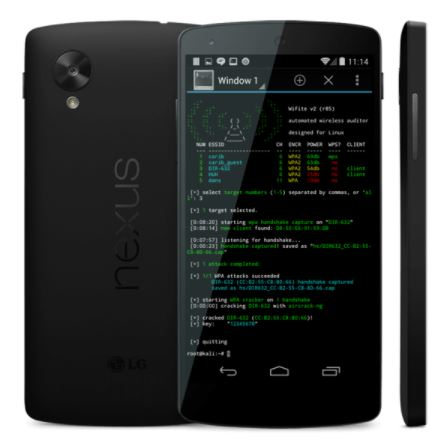 5 Best Hacking Apps for Android Phones - kali linux
