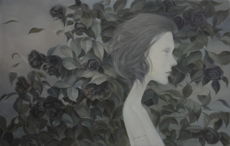 Petal Swirls (2011) 85x55CM