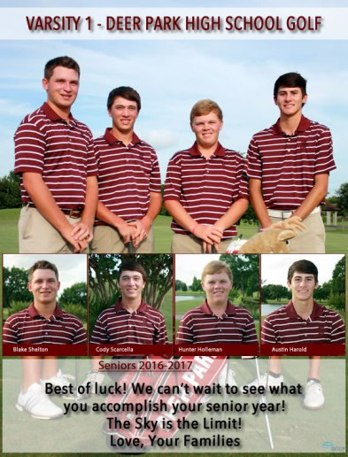 DPHS Golf Full Page Example