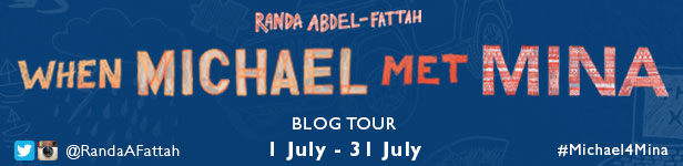 Tour Stop: When Michael Met Mina by Randa Abdel-Fattah